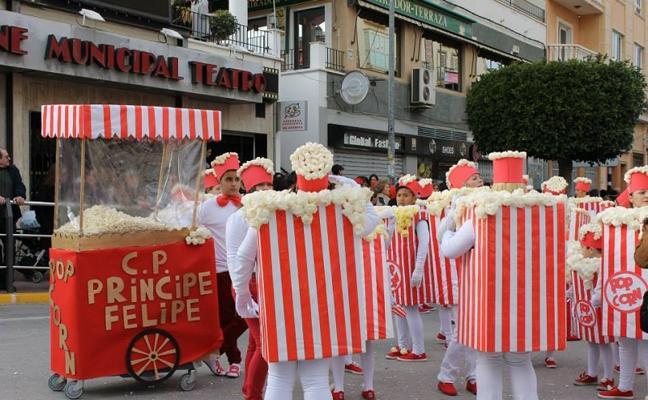 El carnaval de Huércal-Overa repartirá 1.700 euros en premios entre los seis primeros