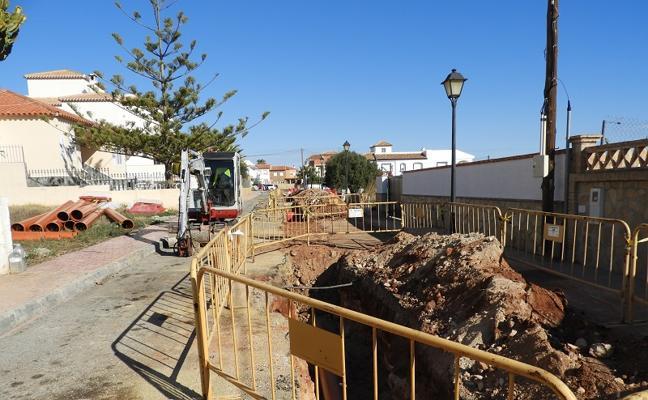 Garrucha busca evitar las inundaciones con la instalación de dos colectores
