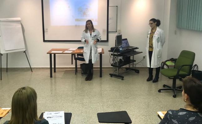 El Área Sanitaria Norte realiza un curso de formación para los voluntarios hospitalarios