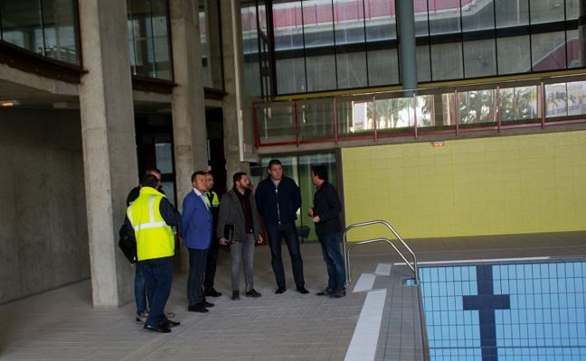 Comienzan los trabajos de acondicionamiento en el Pabellón Municipal de Carboneras