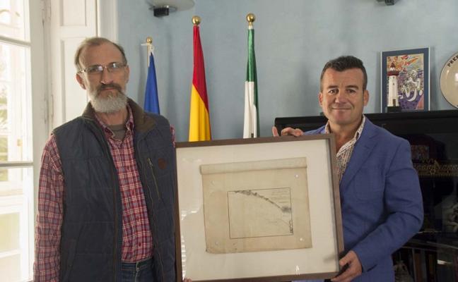 Carboneras recibe la donación de un mapa de los fondeaderos que data de 1813
