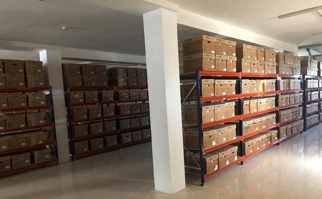 Finalizados los trabajos de organización y traslado del nuevo Archivo Municipal