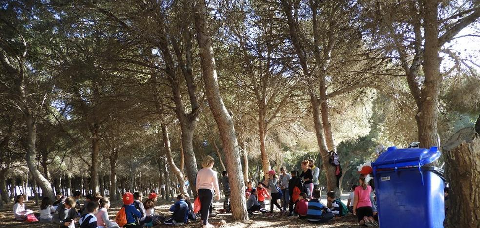 La Ecoescuela de Palomares reduce el impacto ambiental