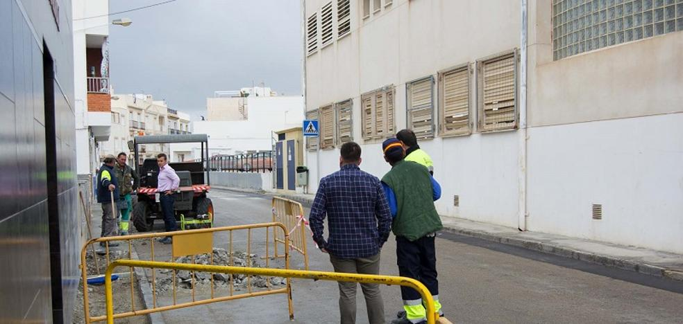 Iniciadas las obras de remodelación en las calles principales del casco histórico carbonero