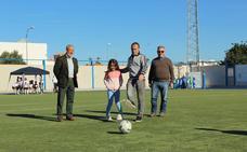 Nino inaugura en Terraza Carmona el VI Torneo de Fútbol Base C. D. Vera