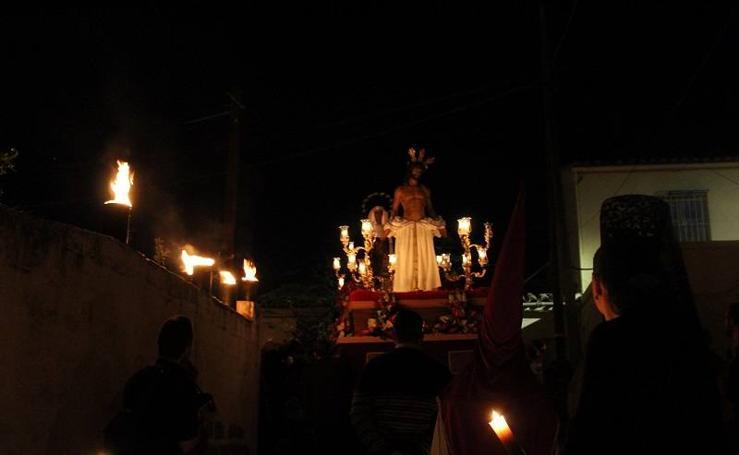 Nuestro Padre Jesús Despojado y María Santísima de la Salud y Esperanza protagonizan el Miércoles Santo en Pulpí