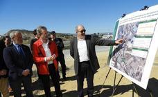 La rotonda del cruce entre Vera y Cuevas estará ejecutada antes de que finalice 2018