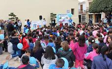 Escolares, autoridades y asociaciones toman conciencia sobre el autismo