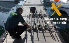 Encuentran dos atunes rojos en una embarcación deportiva en Carboneras