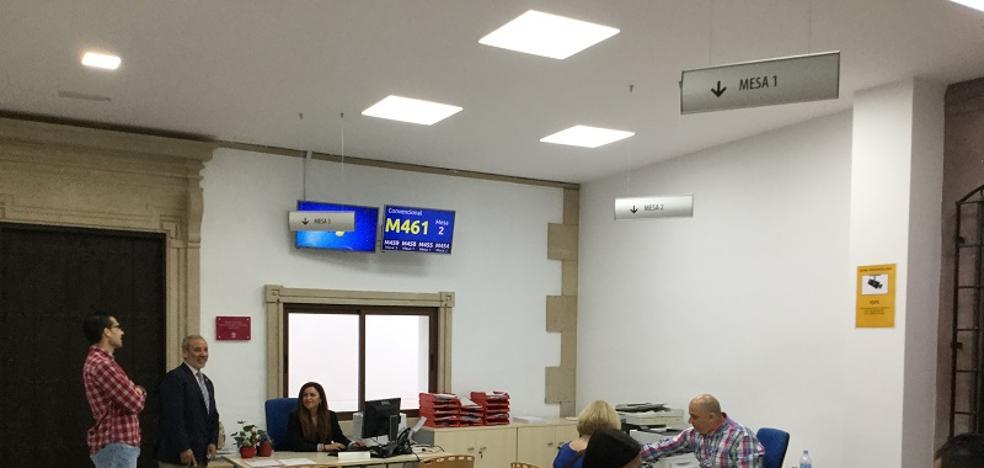 Vera renueva las instalaciones del Servicio de Atención al Ciudadano