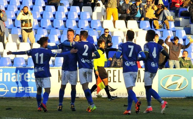 El partido entre Linares y Almería B, en imágenes