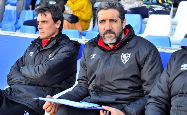 Jaime Molina: «Tenemos futbolistas muy jóvenes que están haciendo un máster»