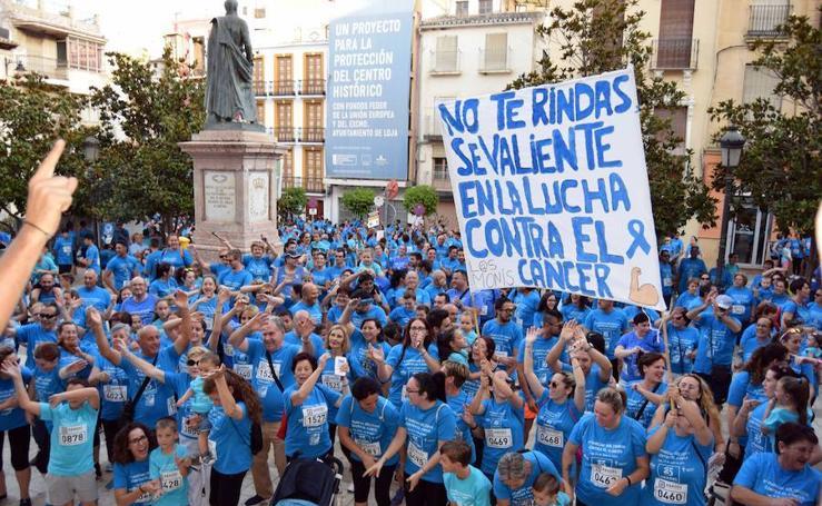Más de 6.000 lojeños participan en la IV Marcha contra el Cáncer