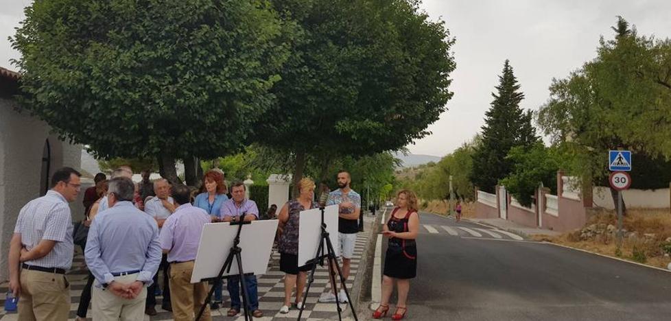 La Diputación invierte 650.000 euros en la mejora de la carretera que une Limones y Tózar