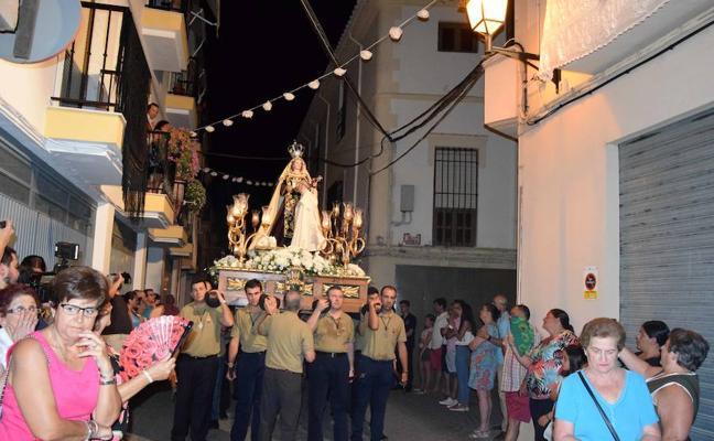Loja acompaña a la Virgen del Carmen