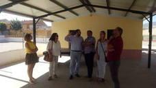 Continúa la retirada de amianto en centros educativos como el de Salar