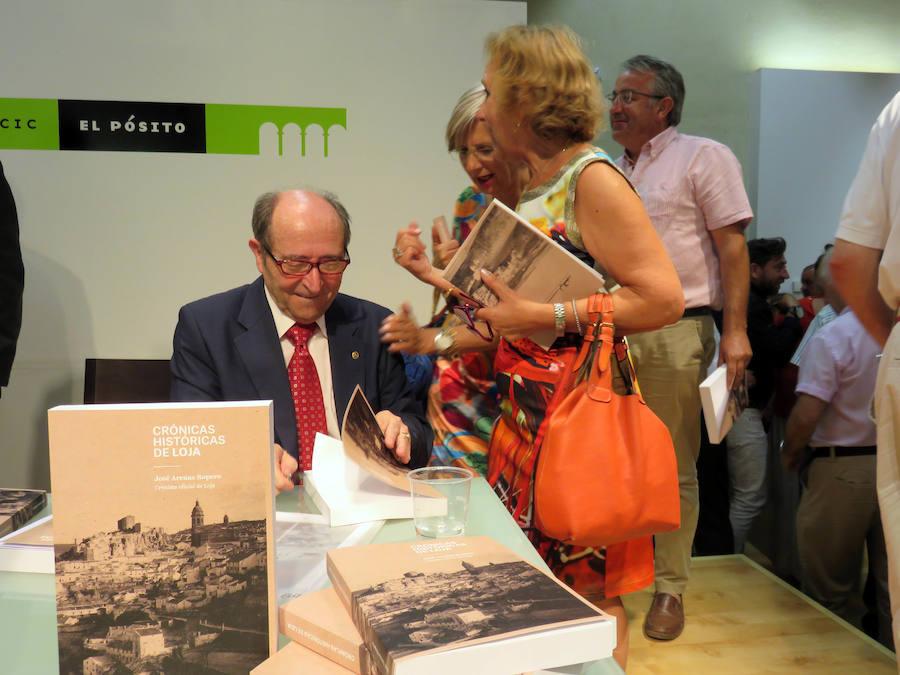 José Arenas se adentra en la etapa cristiana de la ciudad en 'Crónicas históricas de Loja'