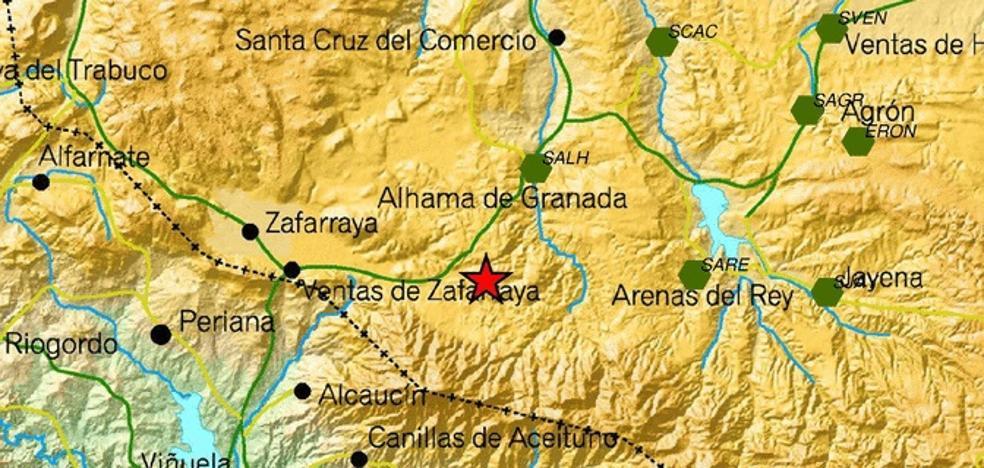 Un terremoto alarma a los vecinos de Alhama de Granada