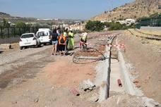 Continúan los trabajos en el AVE de Loja tras descartar Adif riesgos para el acuífero