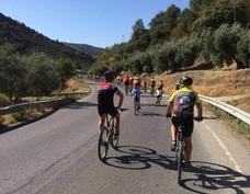 """Un centenar de ciclistas de Montefrío participan en la XXIII edición de """"Monte en bici"""""""