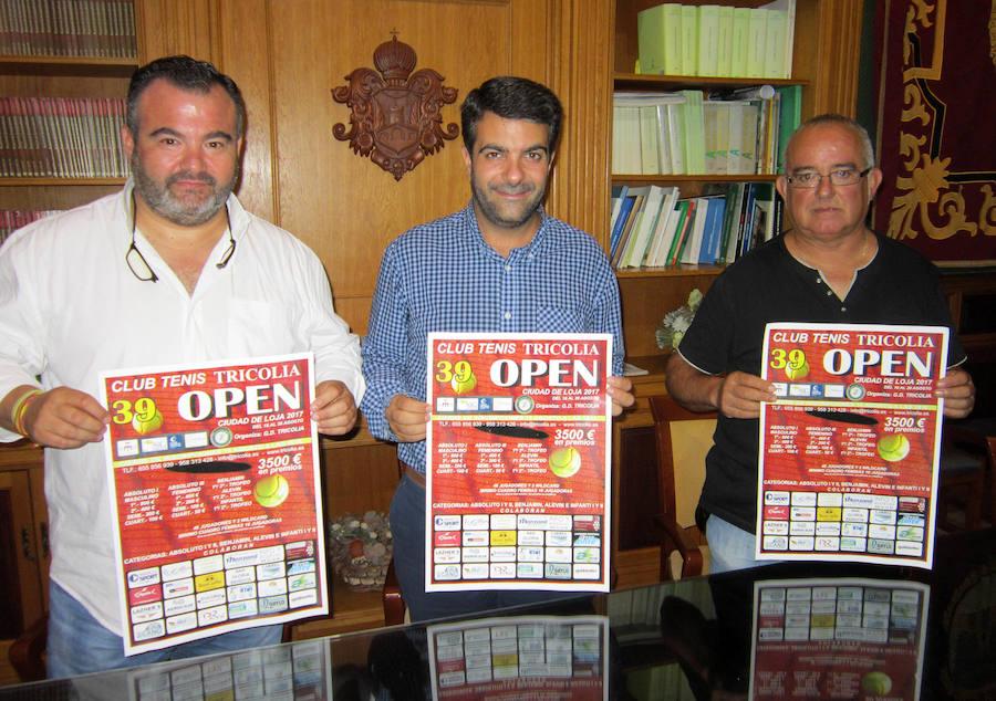 El 39 Open de Tenis, excepcional preámbulo deportivo de la Feria Grande de Loja