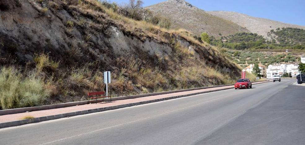 Una nueva fase de alumbrado sigue completando la avenida de Andalucía de Loja