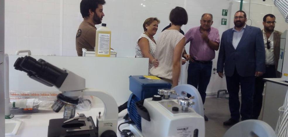 Huétor Tájar estrena instalaciones para sus dos ciclos formativos sobre industria agroalimentaria