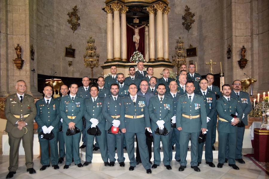 Actos conmemorativos en honor a la patrona de la Guardia Civil