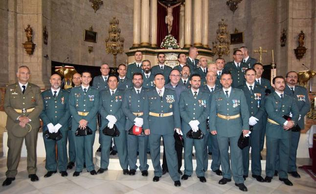 La Guardia Civil de Loja celebra su día recordando a los agentes de Cataluña