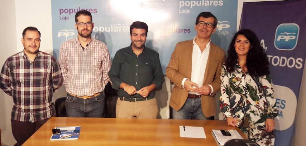"""El PP reprocha a la Junta """"su maltrato a Loja"""" por la """"falta de inversiones"""""""