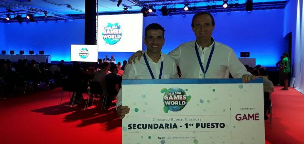 Premian a dos profesores del IES Américo Castro por usar videojuegos como herramienta educativa