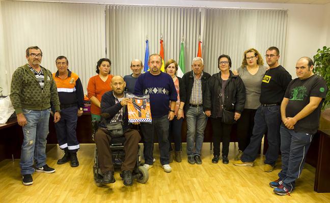 Los voluntarios de Protección Civil de Huétor Tájar renuevan su equipación completa