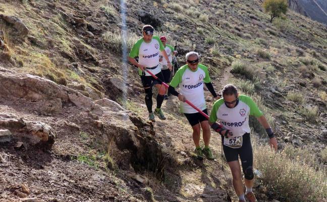 Jacob Gutiérrez y Gemma Arenas, ganadores del medio kilómetro vertical de la Abades Stone