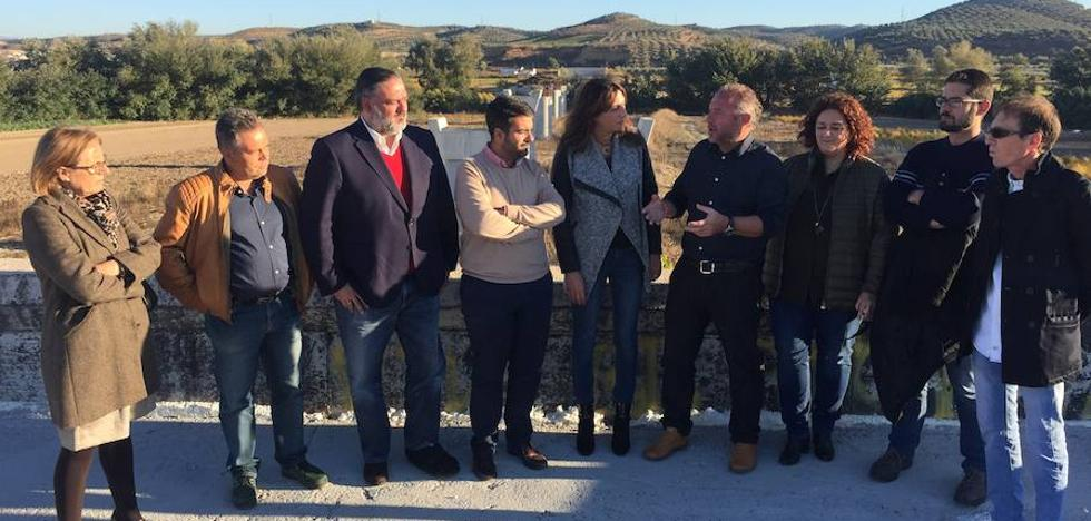 """El PP denuncia """"las reiteradas mentiras del socialismo respecto al nuevo Puente de Huétor Tájar"""""""