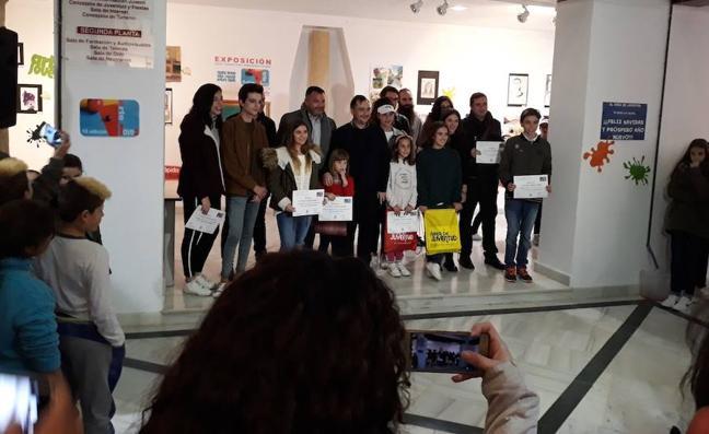 'Arte Joven' premia un año más el talento creativo de los lojeños