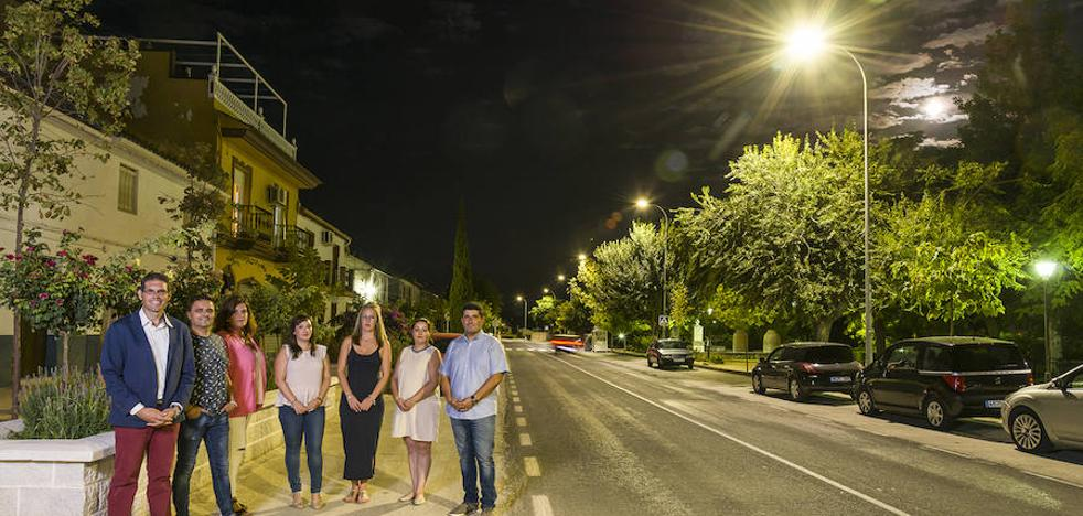 Íllora adapta su alumbrado público a un sistema avanzado de 'smart lighting'