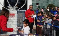 Un roscón gigante para elegir a los pajes de los Reyes en Huétor Tájar