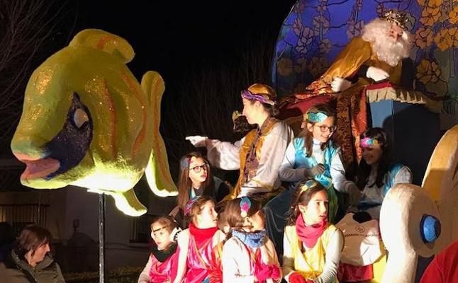 Los Reyes Magos en Montefrío