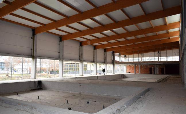 El Ayuntamiento lojeño espera culminar este año la obra del Centro Deportivo Urbano