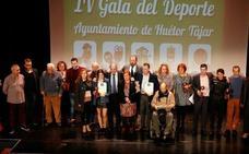 La IV Gala del Deporte premia a los mejores deportistas hueteños