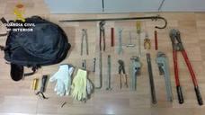 La Guardia Civil detiene en Loja a los supuestos autores del robo en un cortijo