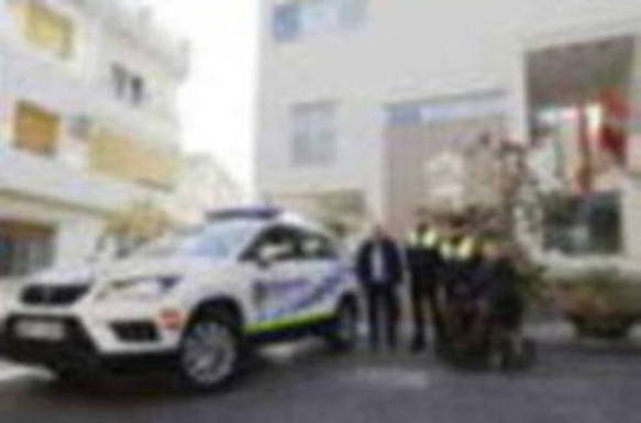 La Policía Local hueteña incorpora un nuevo vehículo policial