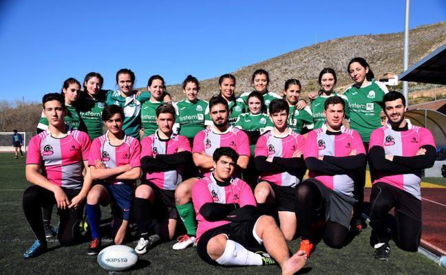 """El mejor rugby andaluz se da cita en Loja para """"hacerle un placaje"""" al cáncer"""