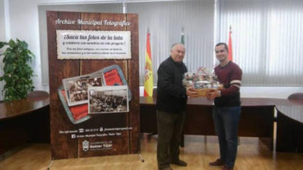 Juan Ayllón gana la primera campaña de fotografías antiguas del Archivo Municipal hueteño