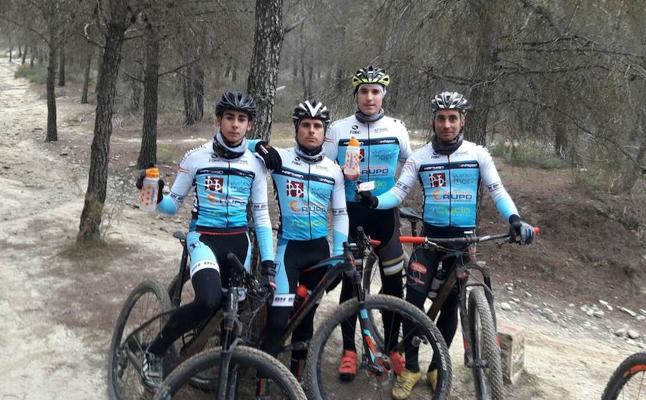 Moclín estrena club ciclista con primeros puestos en las competiciones andaluzas