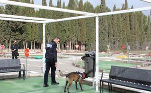 La Unidad Canina de Loja, instructora en unas jornadas nacionales de búsqueda de droga