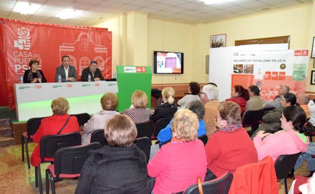 El PSOE impulsa una campaña de sensibilización sobre la Ley de Memoria Histórica de Andalucía ll