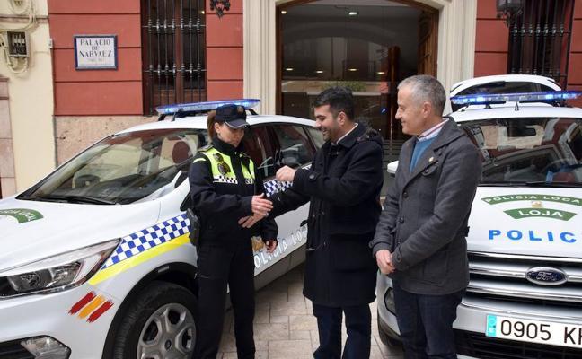 La Policía Local de Loja renueva su parque móvil con dos vehículos