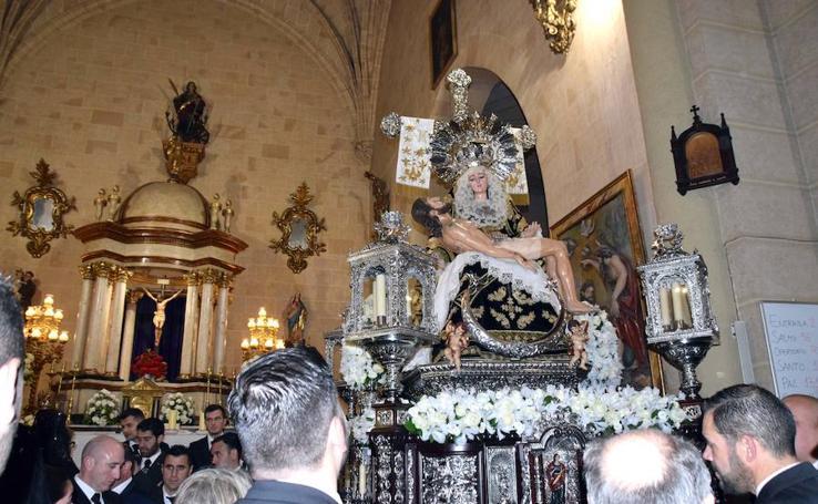 La Virgen de los Dolores de Loja no procesiona por primera vez en 19 años