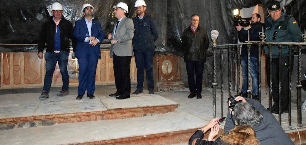 Una nueva partida en los PGE agiliza la restauración del convento de Santa Clara